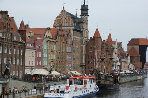 Old town & harbour of Gdańsk.