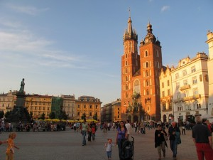 Old town of Cracow.