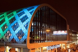 Central train station in Poznań.