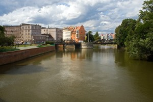 Wroclaw is famous for it's canals.