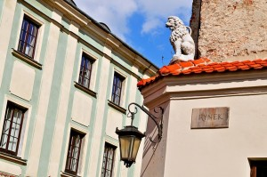 Lublin has a wonderful old town.